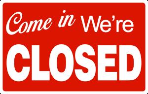 Come-In-Were-Closed