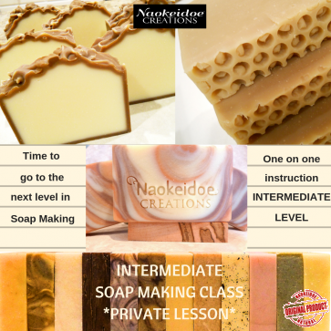 Intermediate Soap Making Class Richmond and Hampton, VA