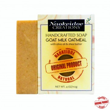 Goat Milk Colloidal Oatmeal Handmade Soap