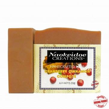 Naokeidoe Creations Cranberry Cinnamon Compote Soap