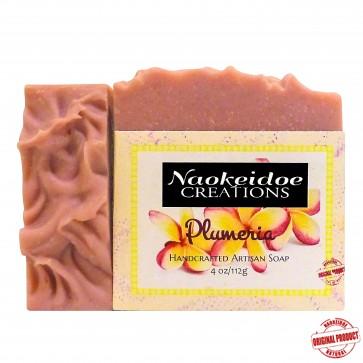 Naokeidoe Creations Plumeria Handmade Soap
