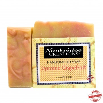Jasmine Grapefruit  Handmade Soap