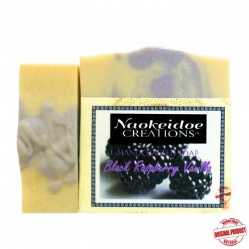Black Raspberry Vanilla Handmade Soap