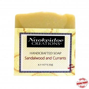 Sandalwood and Currants Handmade Soap