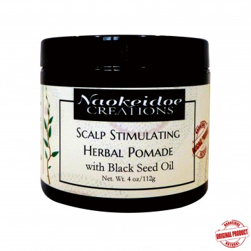 Scalp Stimulating Herbal Pomade with Black Seed Oil