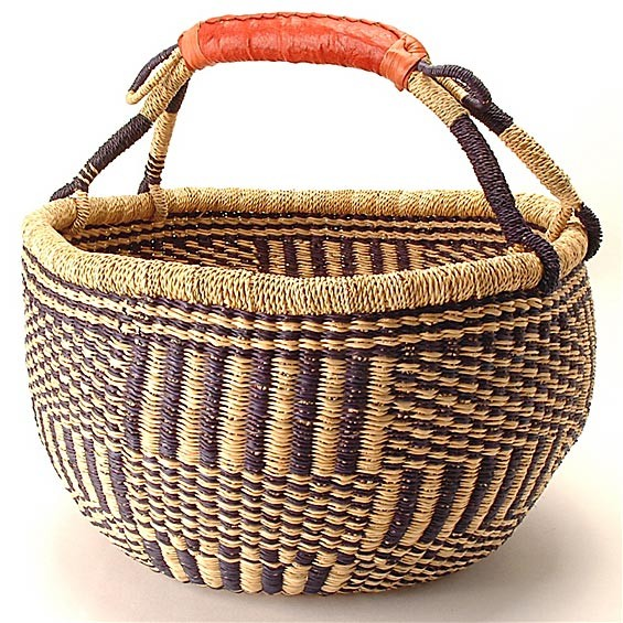 Handmade Baskets From Africa : Bolga baskets hand woven from ghana handmade natural soap