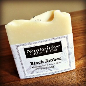 Black Amber Handmade Soap