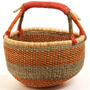 Bolga Basket Purse Hand Woven From Ghana