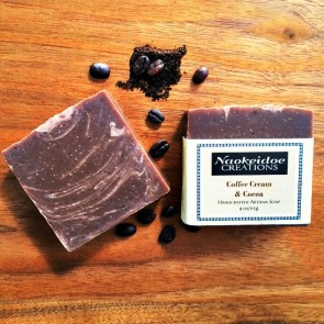 Coffee Cream and Cocoa Handmade Soap
