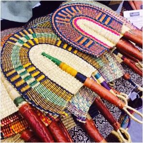 Bolga Fans Hand Woven From Ghana