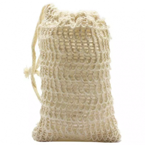 Sisal Soap Saver Bag - Exfoliating