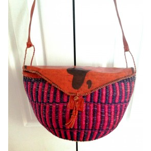 Bolga Basket Purse Hand Woven From Ghana