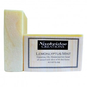 Lemonlyptus Mint  Handmade Soap