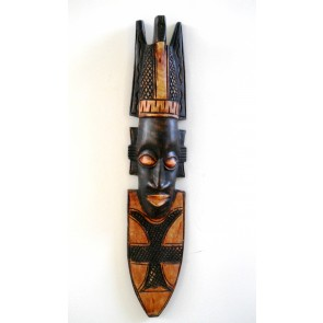 Ghanaian Wood Mask  -