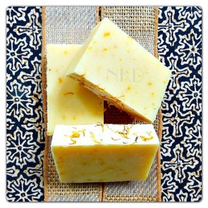 Morning Glory Citrus Handmade Soap