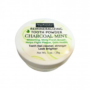 Remineralizing Tooth Powder with Charcoal - Whitening