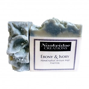 Ebony and Ivory Handmade Soap
