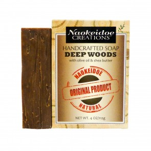 Deep Woods - Handmade Soap - Naokeidoe Creations