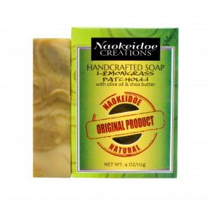 Lemongrass Patchouli Handmade Soap