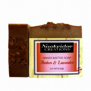 Amber and Lavender Handmade Soap