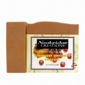 Naokeidoe Creations Cranberry Cinnamon Compote Soap