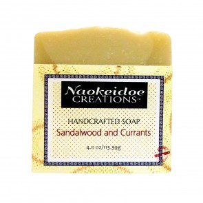 Sandalwood and Currants Handmade Soap